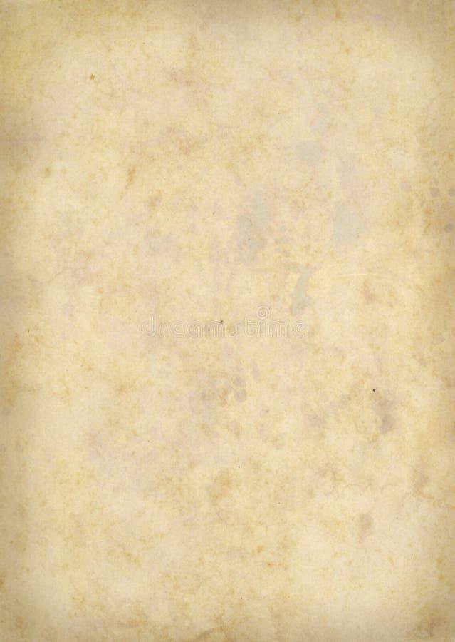 экстренная большая старая бумага 004 иллюстрация вектора