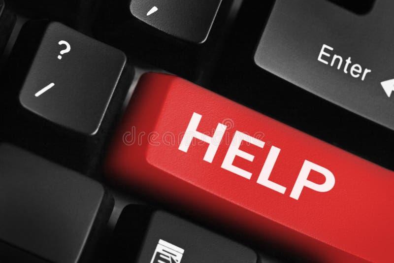экстренныйый выпуск клавиатуры помощи стоковые изображения rf