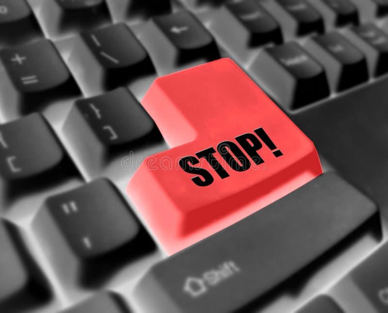 экстренныйый выпуск клавиатуры стоковая фотография rf
