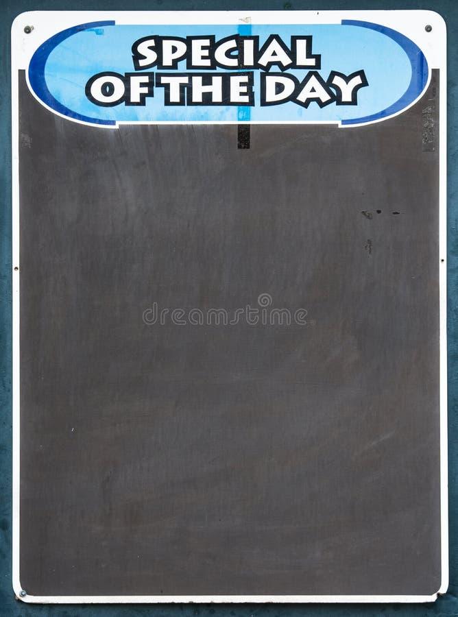 Экстренныйый выпуск доски дня стоковые фото