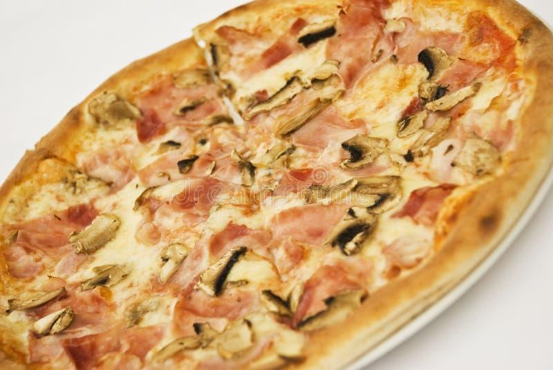 экстренныйый выпуск пиццы стоковые фотографии rf