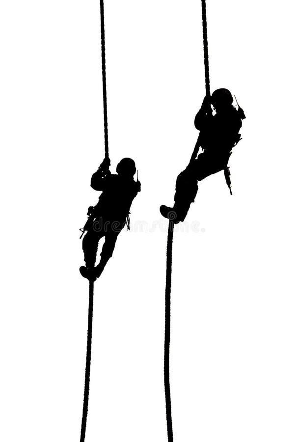 экстренныйый выпуск 3 полиций посадки усилия кабеля стоковое изображение