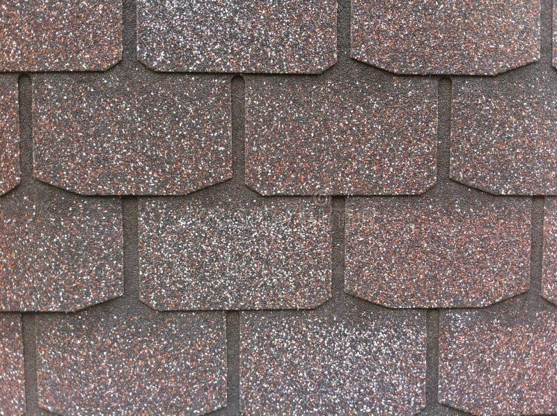 Эластичная, гибкая плитка Искусственный строительный материал для заволакивания крыши абстрактная предпосылка геометрическая иллюстрация вектора