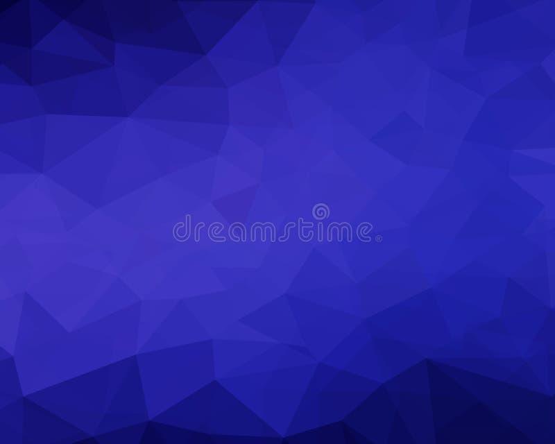 Элегантная темно-синая абстрактная предпосылка вектора иллюстрация вектора