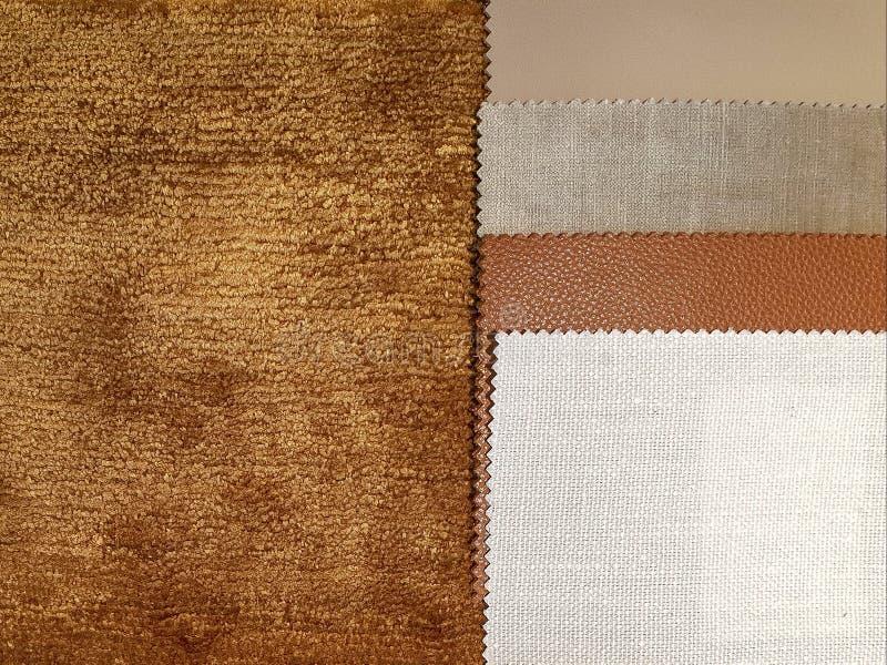 Элегантное коричневое внутреннее настроение стоковое изображение