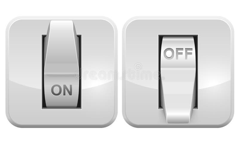 Электрическая икона сети переключателя