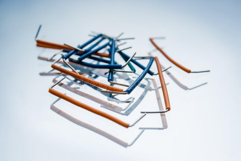 Электрическая конфигурация цепи набора шлямбура стоковое фото rf