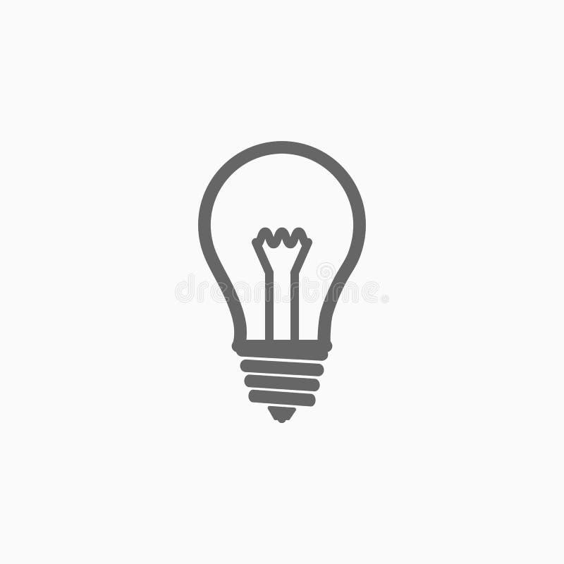 Электрическая лампа, электрическая лампочка, лампа накаливания, шарик бесплатная иллюстрация