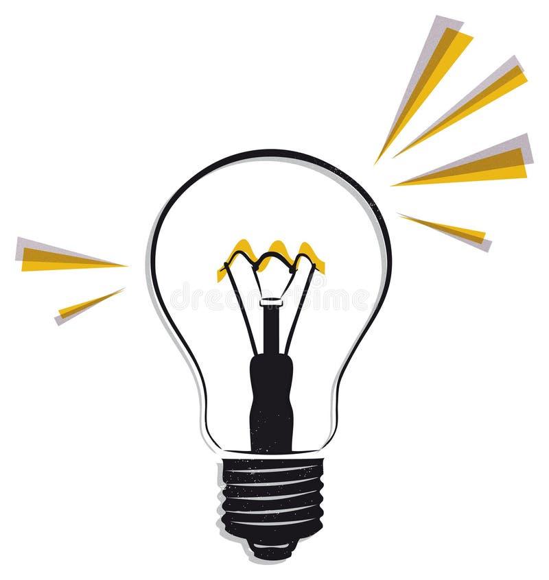 Электрическая лампочка бесплатная иллюстрация