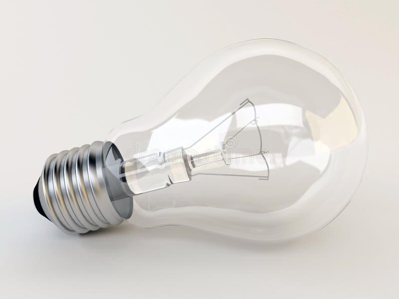 электрическая лампочка 3d бесплатная иллюстрация