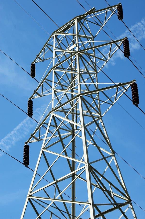 электрическая опора стоковая фотография