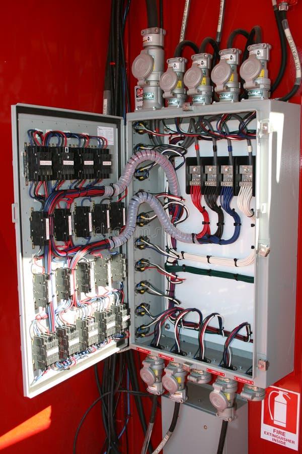электрическая панель стоковые фотографии rf