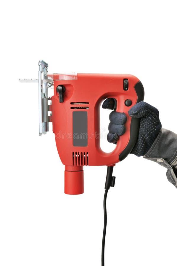 электрическая пилка для ажурных работ стоковое фото rf