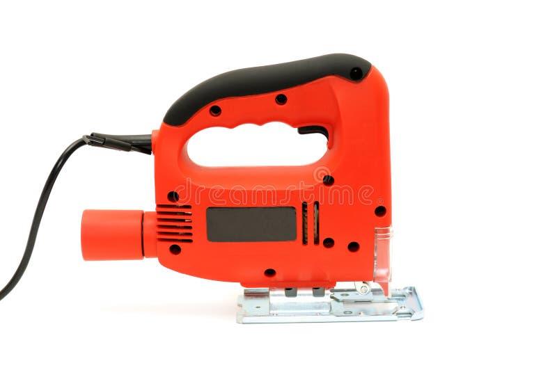 электрическая пилка для ажурных работ стоковое изображение