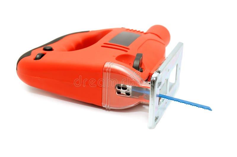 электрическая пилка для ажурных работ стоковые фотографии rf