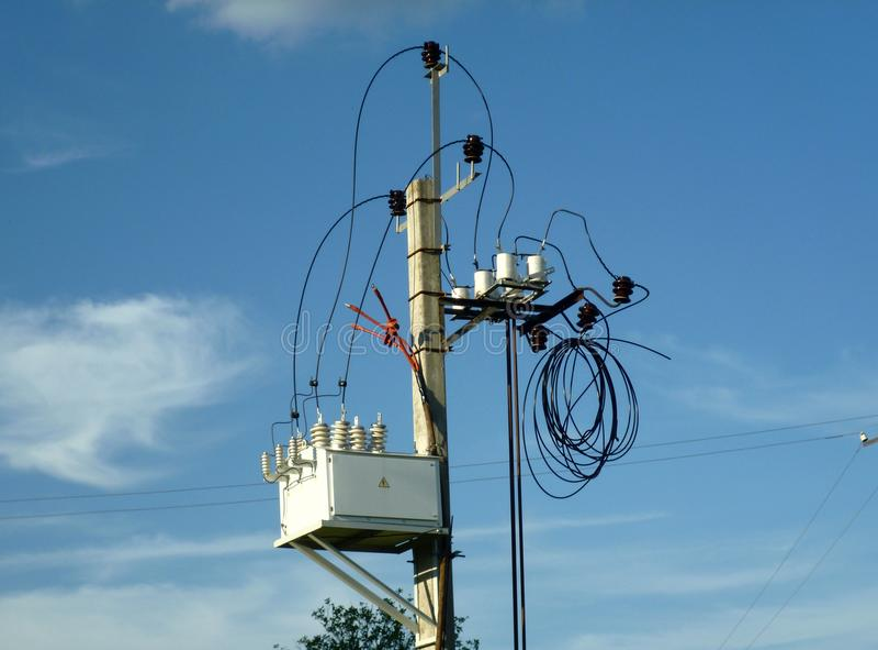 электрическая сеть стоковое фото rf