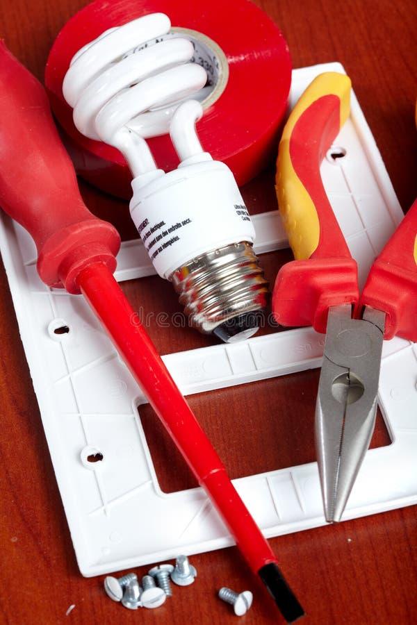 электрические инструменты стоковые изображения rf