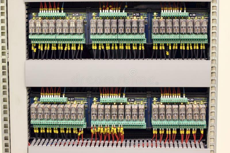 электрические реле стоковое фото rf