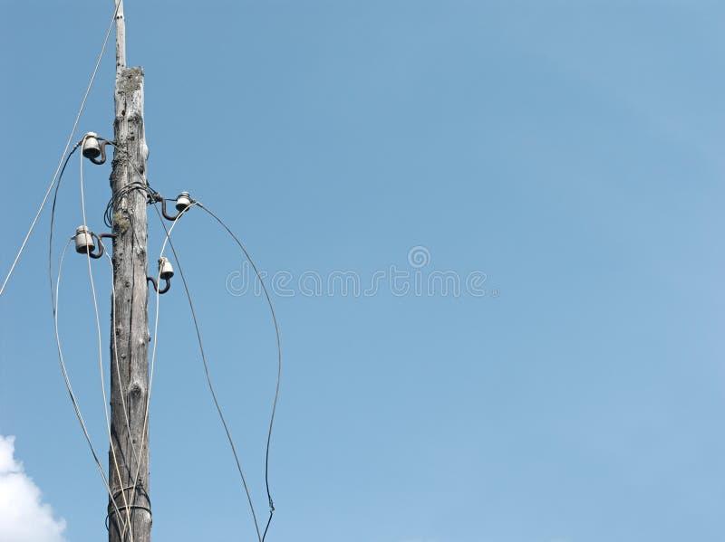 Электрические disconnected провода стоковое фото rf