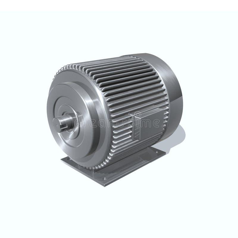 электрический двигатель иллюстрация вектора