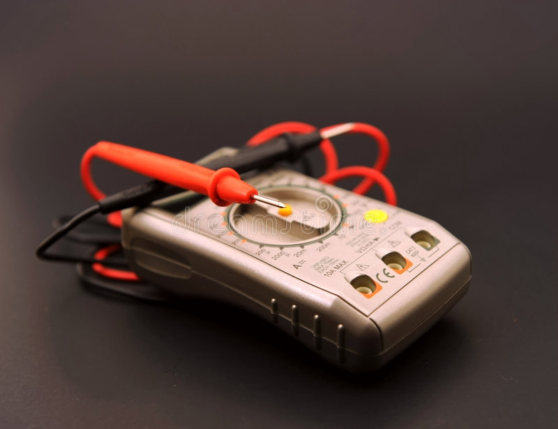 электрический метр стоковые фото