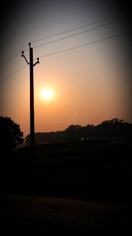 Электрический поляк стоковая фотография