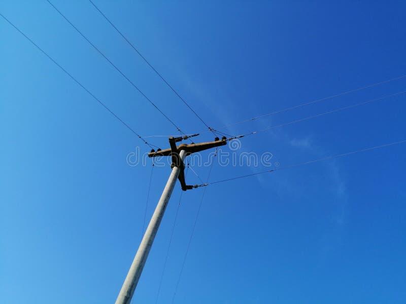 Электрический поляк стоковое изображение