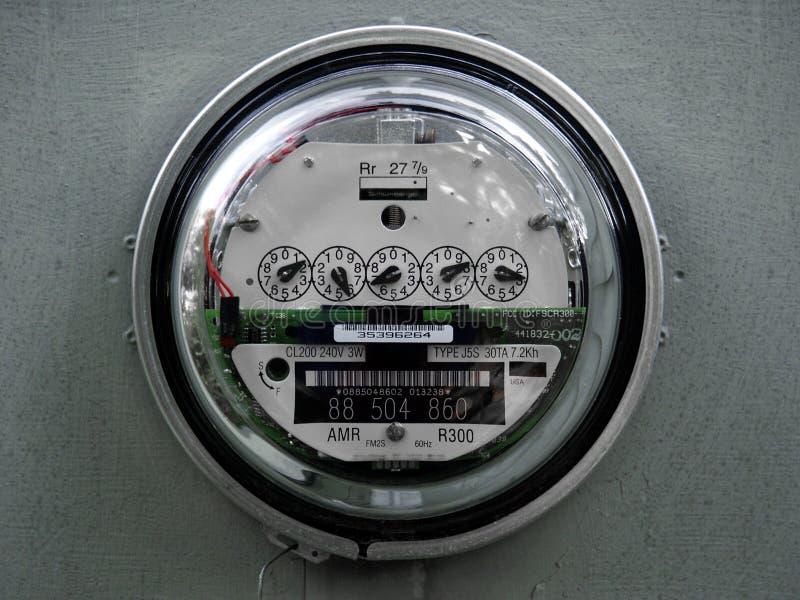 электрический прифронтовой полный метр стоковая фотография rf