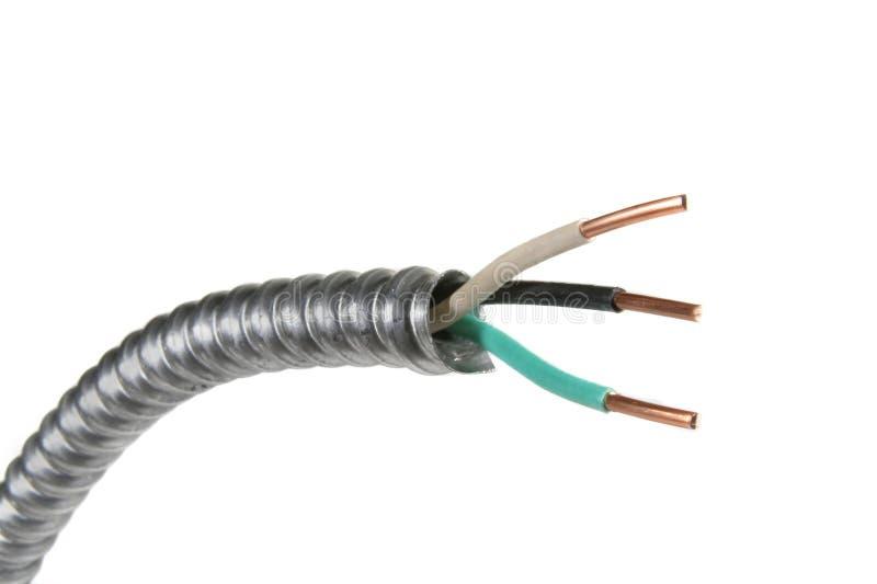 электрический провод стоковая фотография
