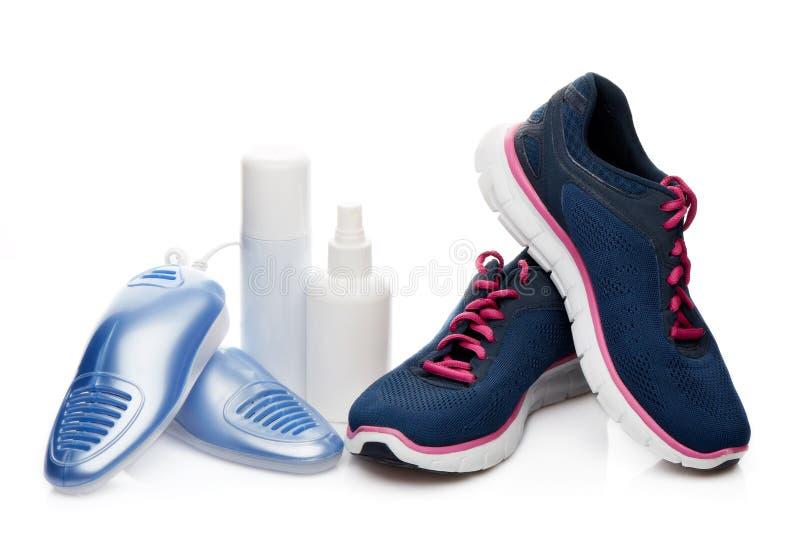 Электрический сушильщик ботинок стоковая фотография rf
