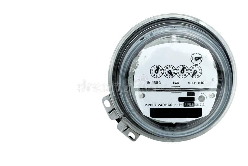 электрический счетчик стоковое изображение rf