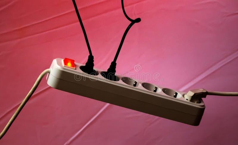 Электрический удлинитель стоковое фото rf