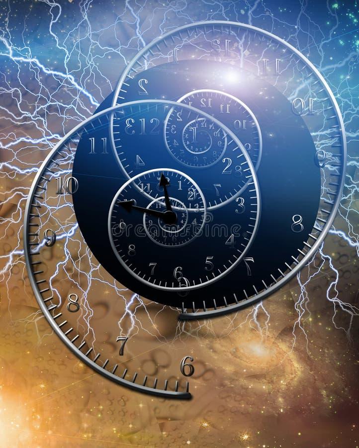 электрическое время бесплатная иллюстрация