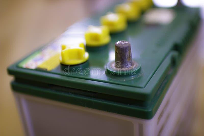 Электрод для зажимов шлямбура, который нужно поручить стоковая фотография