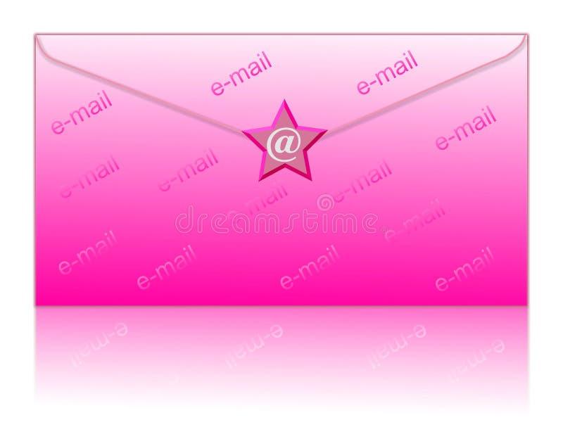 электронная почта охваывает символ бесплатная иллюстрация