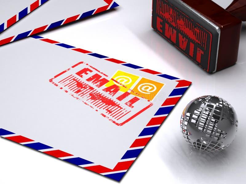 электронная почта принципиальной схемы бесплатная иллюстрация