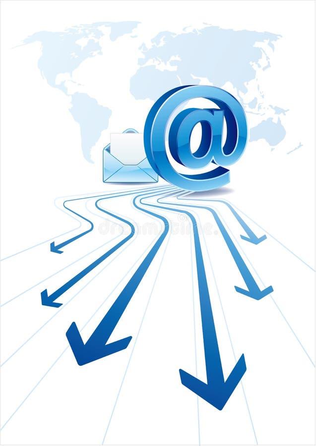 электронная почта связи бесплатная иллюстрация