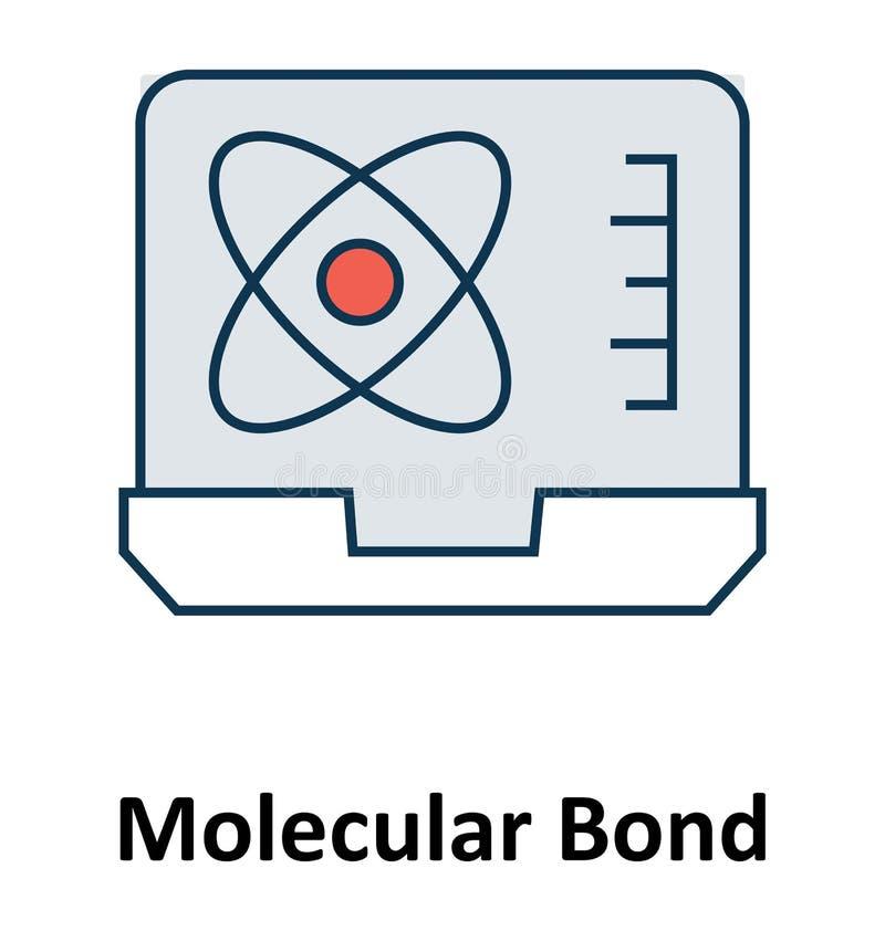 Электрон на изолированной компьтер-книжке и значок вектора для технологии бесплатная иллюстрация