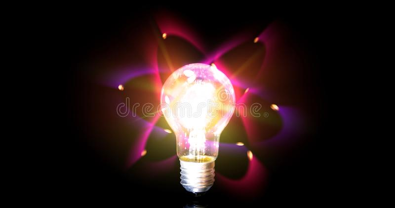 Электрон шарика иллюстрация вектора