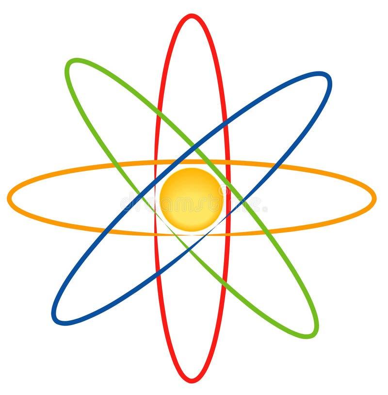 электрон иллюстрация штока