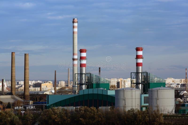 электростанция Венгрии csepel budapest стоковое фото