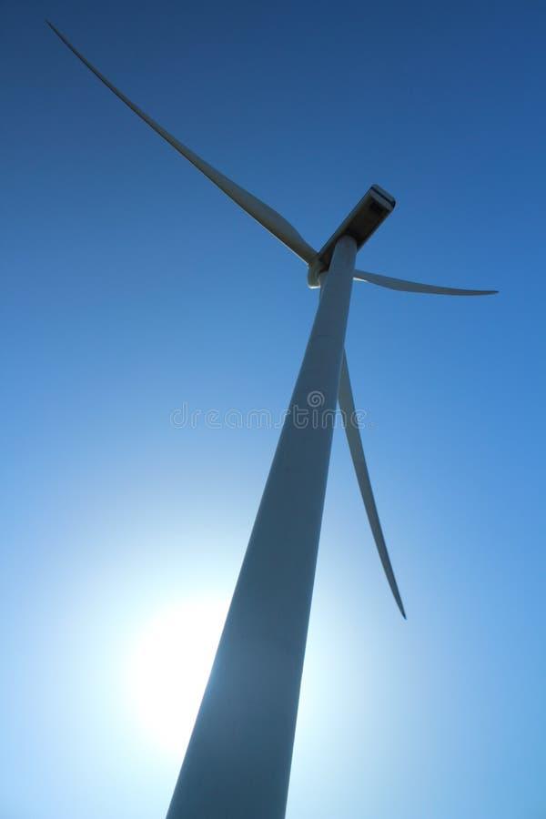 Электростанция ветротурбины стоковые изображения rf