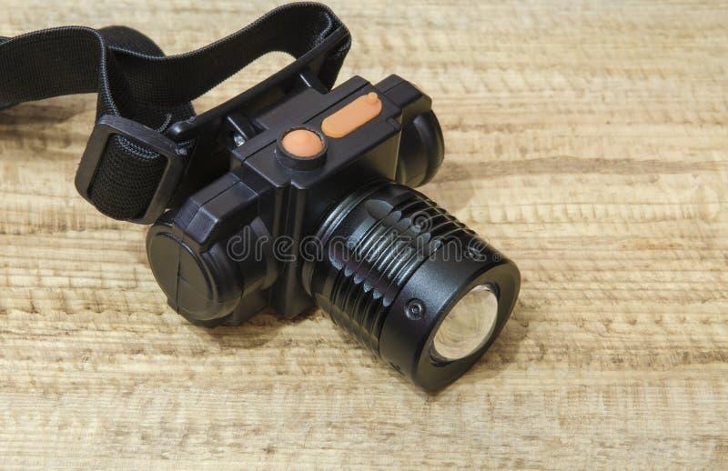 Электрофонарь СИД Headlamp стоковые фото