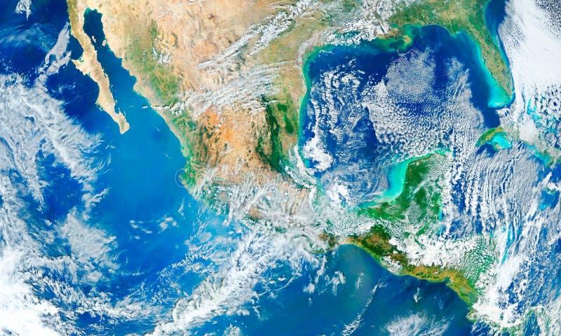 Элементы земли или мира этого изображения обеспечили NASA стоковое фото