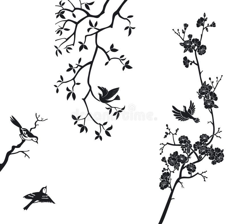 элементы конструкции птиц иллюстрация штока