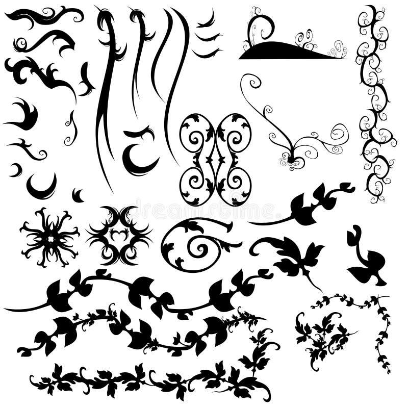 элементы конструкции собрания графические иллюстрация штока