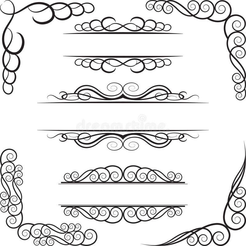 элементы конструкции Стоковое Изображение RF