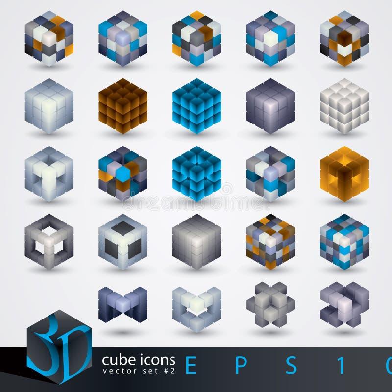 элементы конструкции 3d иллюстрация штока