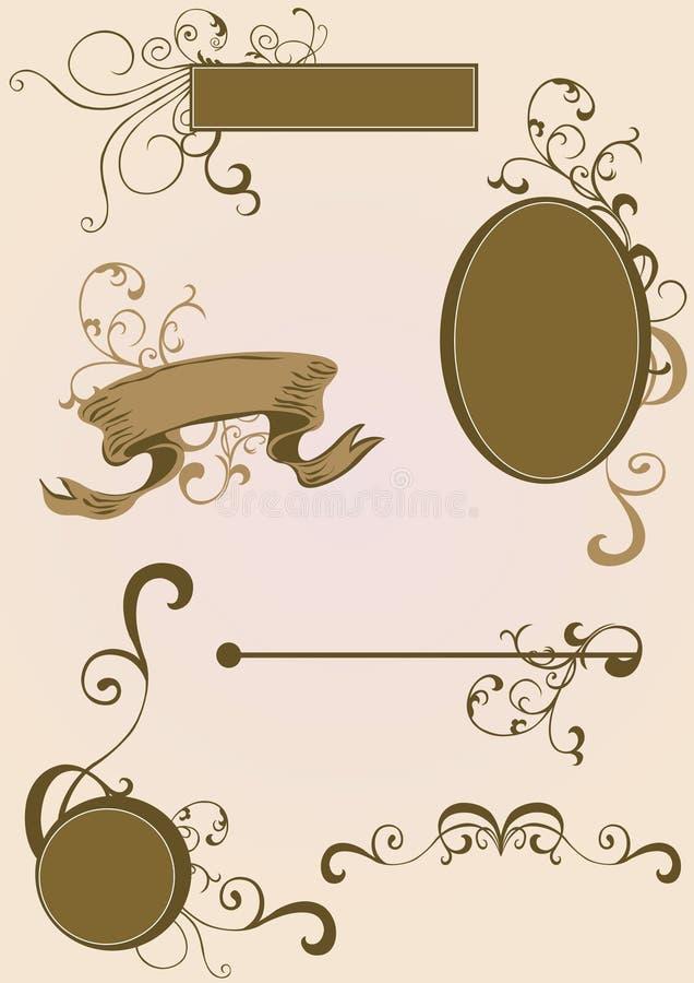 элементы конструкции иллюстрация штока