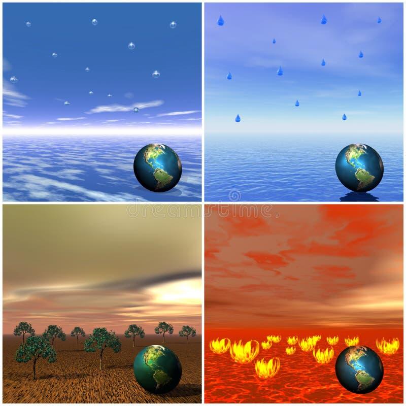элементы 4 бесплатная иллюстрация